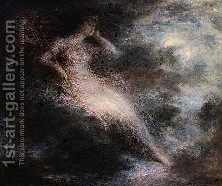 Queen of the Night by Ignace Henri Jean Fantin-Latour - Reproduction Oil Painting