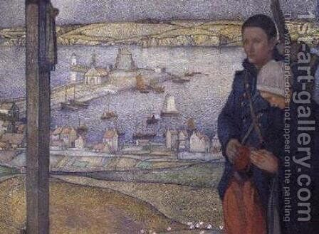 Brittany by Edward Reginald Frampton - Reproduction Oil Painting
