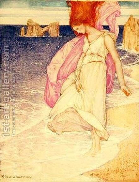 Ridophe by Edward Reginald Frampton - Reproduction Oil Painting