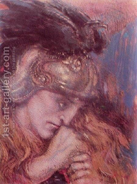 Lohengrin by Henry de Groux - Reproduction Oil Painting