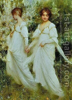 Innocence by Arthur Hacker - Reproduction Oil Painting