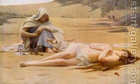 Pelagia and the Philammon by Arthur Hacker - Reproduction Oil Painting