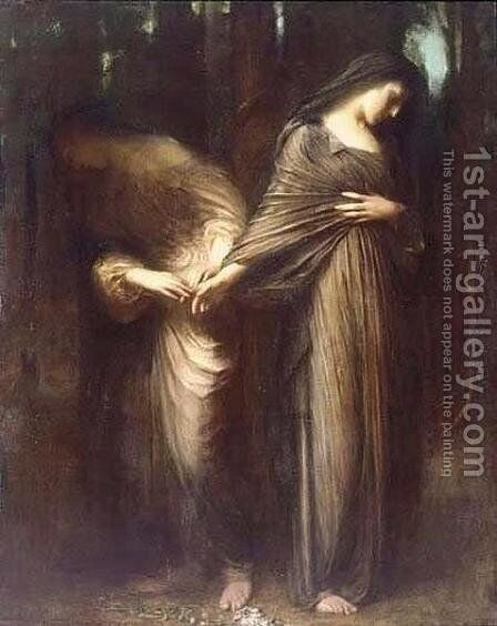 Vale or Farewell by Arthur Hacker - Reproduction Oil Painting