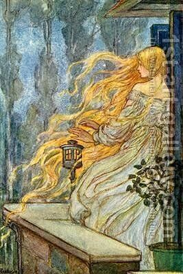 Rapunzel by Emma Florence Harrison - Reproduction Oil Painting