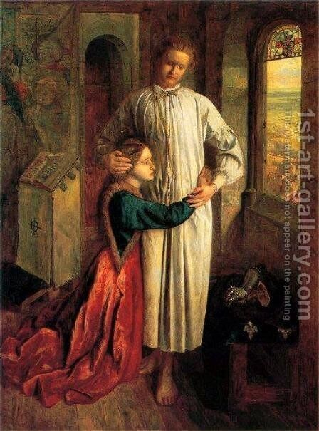 The Burgesses of Calais by Henry Holiday - Reproduction Oil Painting