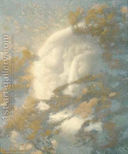 Pack Clouds Away and Welcome Day by Edward Robert Hughes R.W.S. - Reproduction Oil Painting