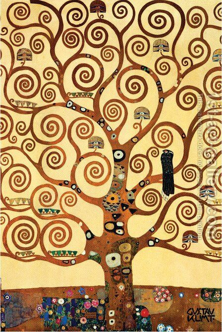 Tree Of Life Painting By Gustav Klimt Reproduction 1st Art Gallery