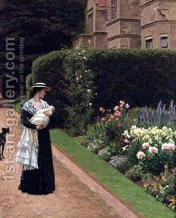 Lord of the Manor by Edmund Blair Blair Leighton - Reproduction Oil Painting