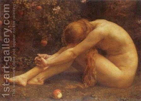 Eve by Anna Lea Merritt - Reproduction Oil Painting