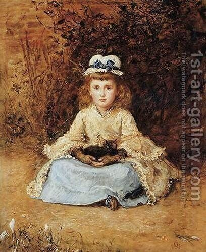 Early days by Sir John Everett Millais - Reproduction Oil Painting