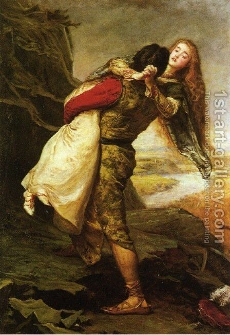 The Crown of Love by Sir John Everett Millais - Reproduction Oil Painting