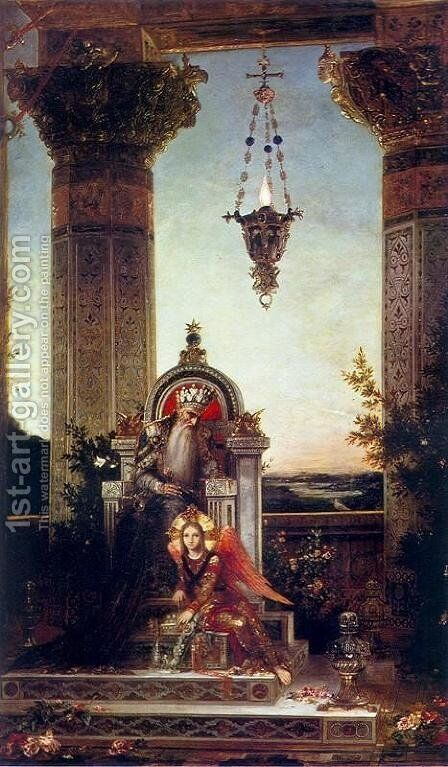 King David by Gustave Moreau - Reproduction Oil Painting