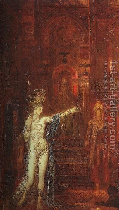 Salome III by Gustave Moreau - Reproduction Oil Painting