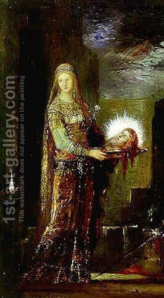 Salome IV by Gustave Moreau - Reproduction Oil Painting