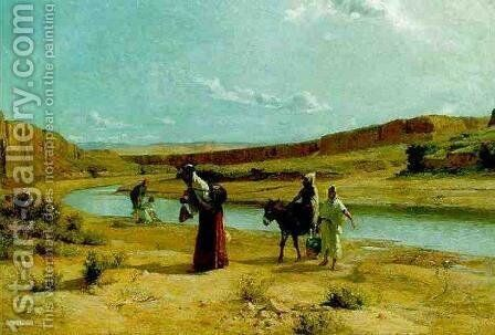 Bous Saad by Armand Point - Reproduction Oil Painting