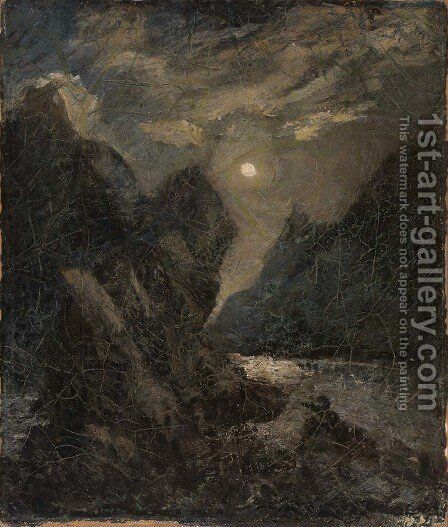 The Lorelei by Albert Pinkham Ryder - Reproduction Oil Painting