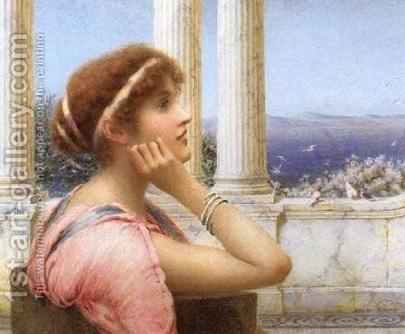 The Isles of Greece by Henry Ryland - Reproduction Oil Painting