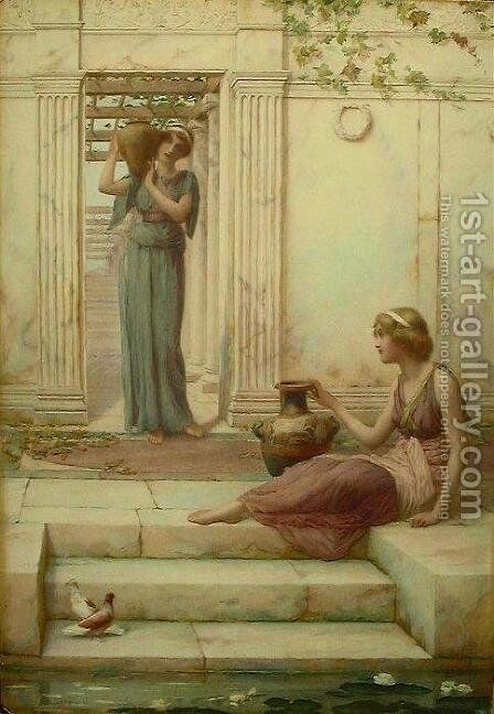 The Water Carriers by Henry Ryland - Reproduction Oil Painting