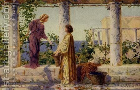 Vine Maidens by Henry Ryland - Reproduction Oil Painting