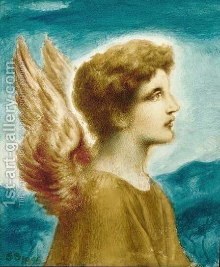 Angel Boy by Simeon Solomon - Reproduction Oil Painting