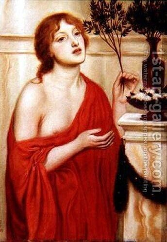 In the Temple of Venus by Simeon Solomon - Reproduction Oil Painting