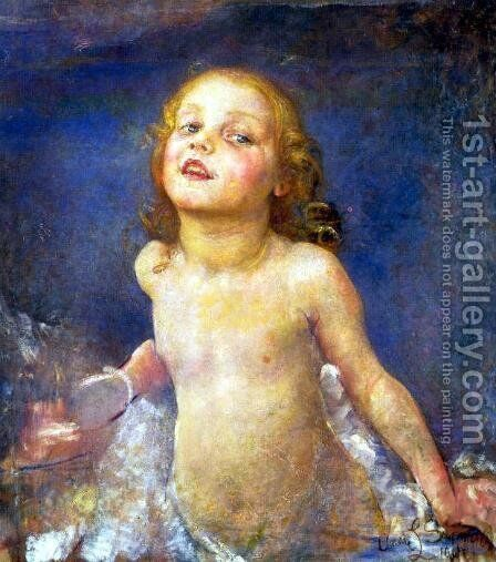 New Risen Hope by Annie Louise Swynnerton - Reproduction Oil Painting