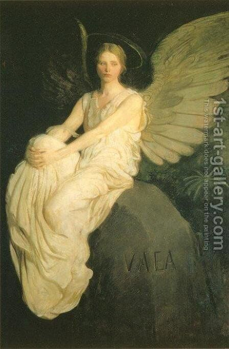 Stevenson Memorial by Abbott Handerson Thayer - Reproduction Oil Painting