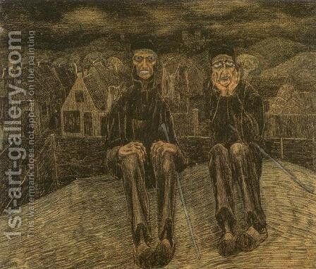 Les Calvinistes de Catwijck by Jan Toorop - Reproduction Oil Painting