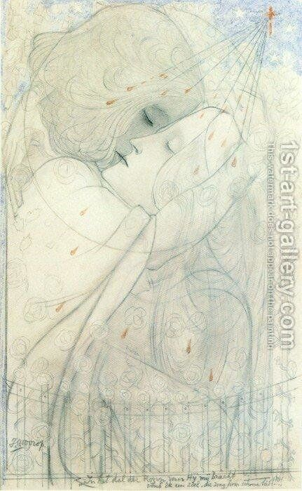 The Valley of the Roses by Jan Toorop - Reproduction Oil Painting