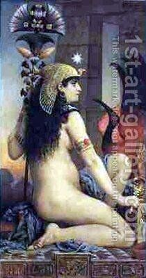 Egyptian Woman by Jacques-Clement Wagrez - Reproduction Oil Painting