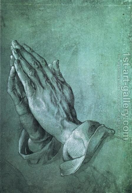 Hands I by Albrecht Durer - Reproduction Oil Painting