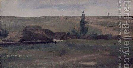 Country Landscape by Adam Chmielowski - Reproduction Oil Painting