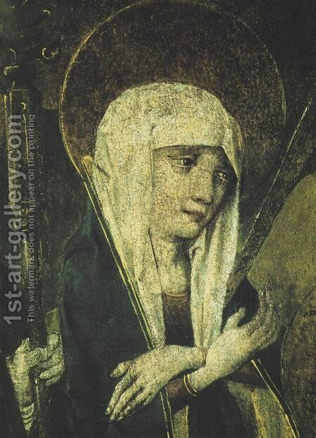 Our Lady of Sorrows III by - Unknown Painter - Reproduction Oil Painting