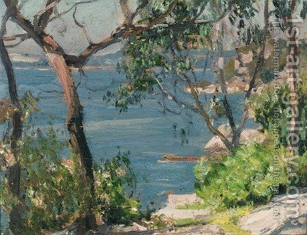 Cremorne Point by Emanuel Phillips Fox - Reproduction Oil Painting