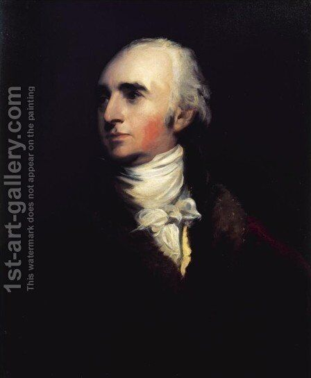 Portrait of John Stuart, 4th Earl and 1st Marquess of Bute (1744-1814) by Sir Thomas Lawrence - Reproduction Oil Painting