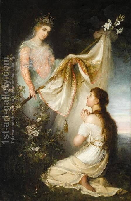 Joan of Arc by Henryk Hector Siemiradzki - Reproduction Oil Painting
