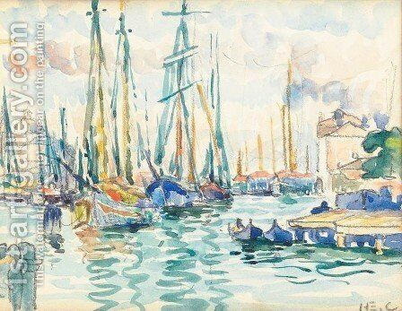 Venice by Henri Edmond Cross - Reproduction Oil Painting