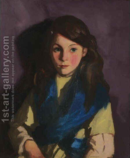Sarah B by Robert Henri - Reproduction Oil Painting