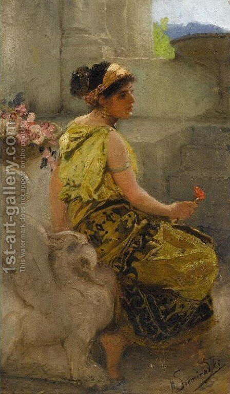 Southern Beauty by Henryk Hector Siemiradzki - Reproduction Oil Painting