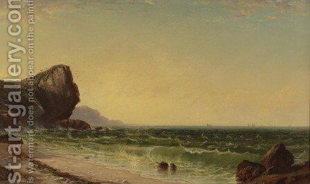 Rocky Coast 2 by Alfred Thompson Bricher - Reproduction Oil Painting