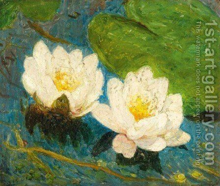 Water Lily by Emile Claus - Reproduction Oil Painting