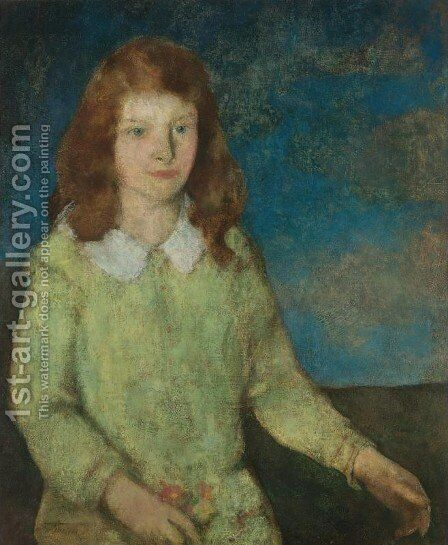 Eleanor by Charles Webster Hawthorne - Reproduction Oil Painting