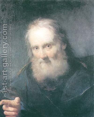 Portrait of an Elder by Bartolomeo Nazari - Reproduction Oil Painting