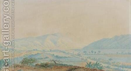 Valle de Caracas by Anton Goering - Reproduction Oil Painting
