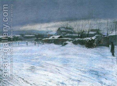 Winter by Artur Markowicz - Reproduction Oil Painting