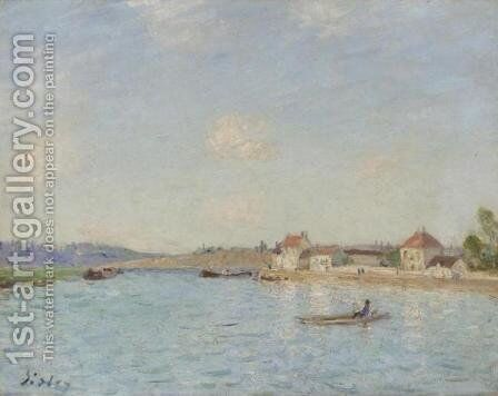 Saint-Mammes 2 by Alfred Sisley - Reproduction Oil Painting