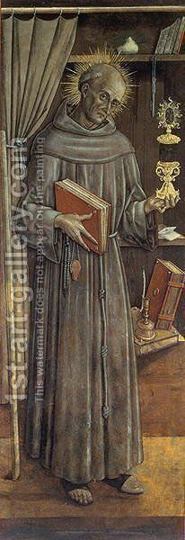 St. James della Marca by Carlo Crivelli - Reproduction Oil Painting