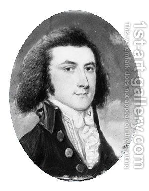 James Livingston by Archibald Robertson - Reproduction Oil Painting