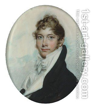 Benjamin Kintzing by Benjamin Trott - Reproduction Oil Painting