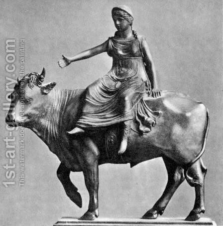 Europa and the Bull by Bartolommeo Bellano - Reproduction Oil Painting